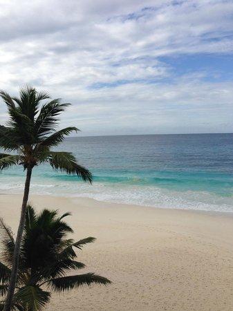 Banyan Tree Seychelles: Такой вид когда завтракаешь