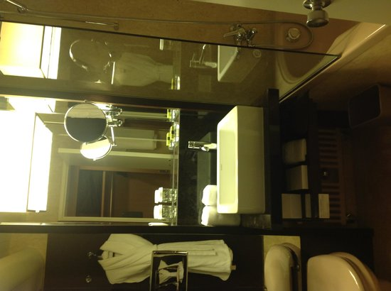 Hotel InterContinental Geneve: small nice bathrooms