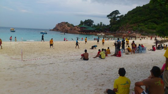 Redang Beach Resort : soccer match