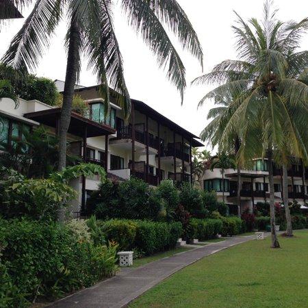 Banyan Tree Bintan: 宿泊棟は三階建て景色の良さは三階の方が良い。