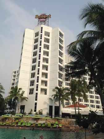 Hard Rock Hotel Pattaya: Вид на отель