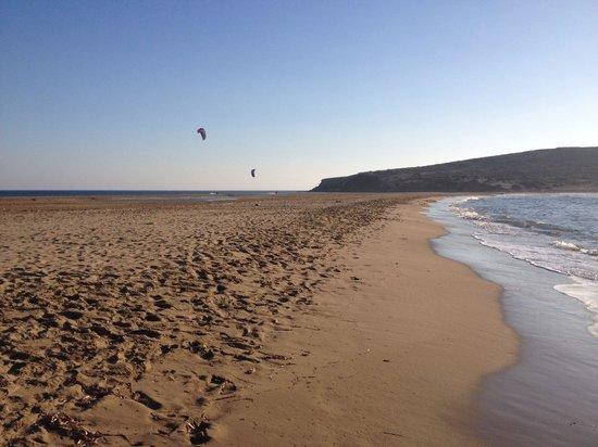 Prasonisi Beach: Не сезон?!