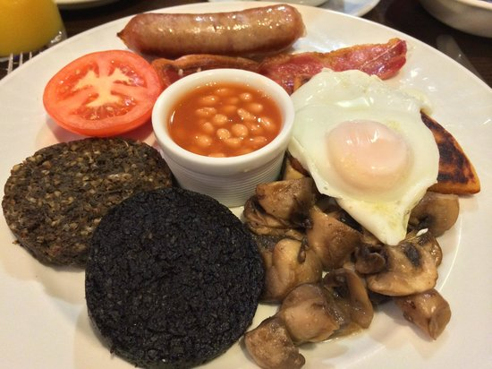 The City Hotel: 朝食(Scottish Breakfast)