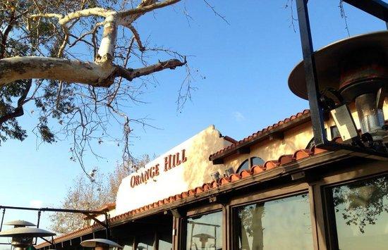 Orange Hill Restaurant : orange hill