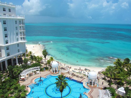 Hotel Riu Palace Las Americas: View from my hotel room.