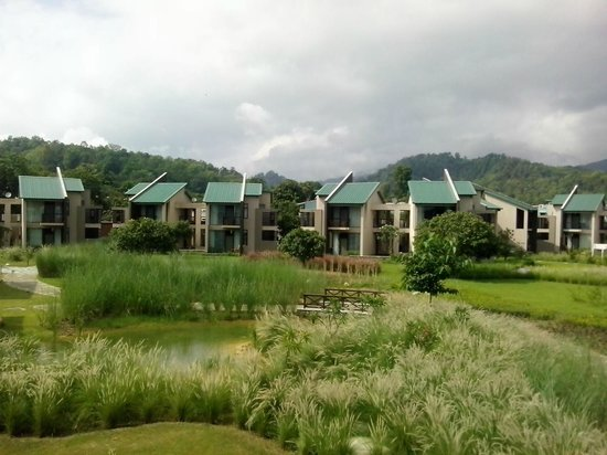 Dhikuli, India: Panoramic View From Rooms