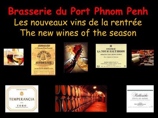 Brasserie du Port : vin