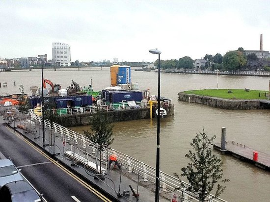 The Pier Hotel, Limerick : View to west