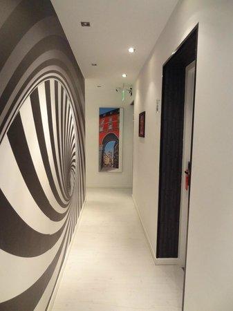 Hostal JQ Madrid 1: Hotel lobby