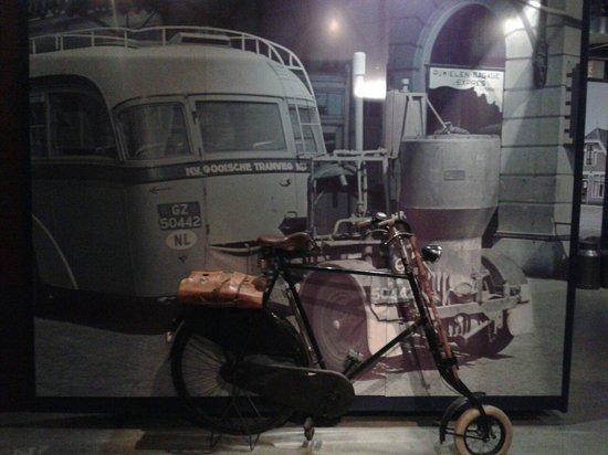 Musée de la Résistance : Bicicleta