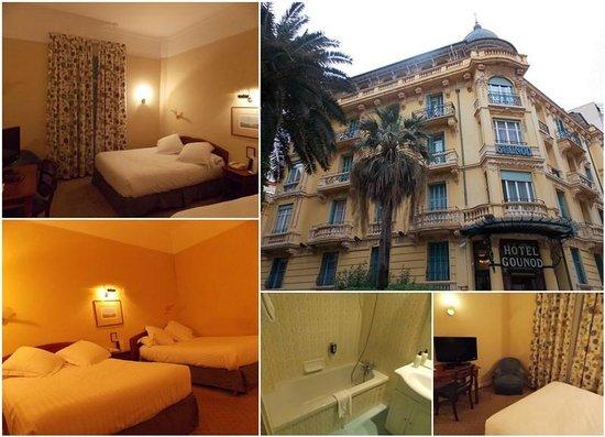 Hotel Gounod Nice: Отель