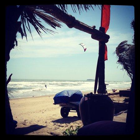 Malibu Resort Hotel: Зоня пляжа при отеле