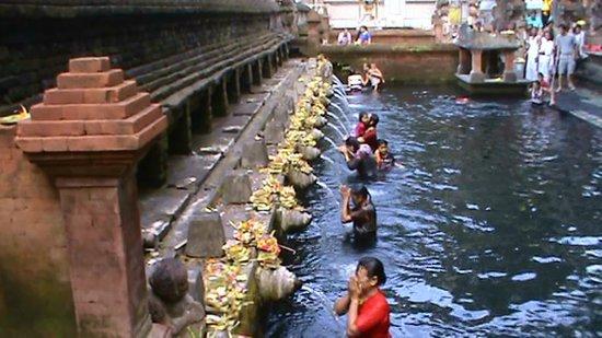 Banjar Hot Springs: le bassin des eaux sacrées