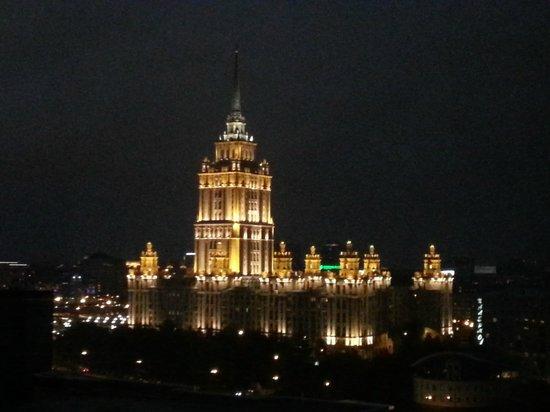 "Crowne Plaza Moscow World Trade Centre: Вид на гостиницу ""Украина"""