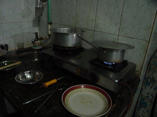 Volga Hotel: キッチン