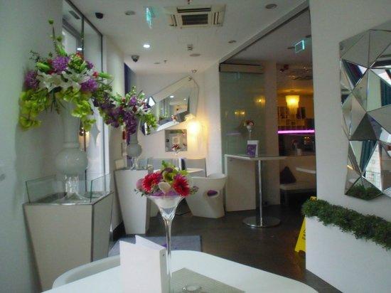 Hotel Luxe : The zany lobby