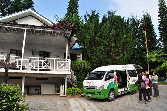 Kinabalu Pine Resort: overview