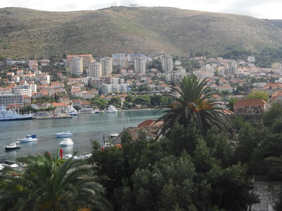 Hotel Lapad : The view from our room