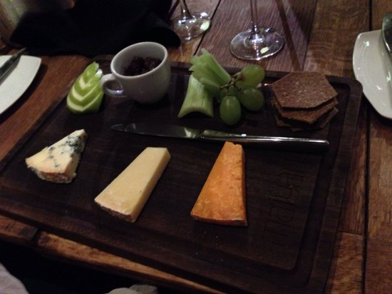Maiyango Restaurant: Cheese board