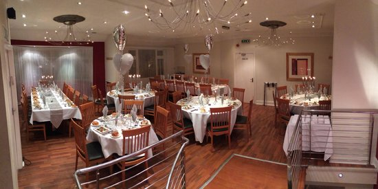 JS Restaurant: Our newly refurbished and extended function room that seats approx 80 people