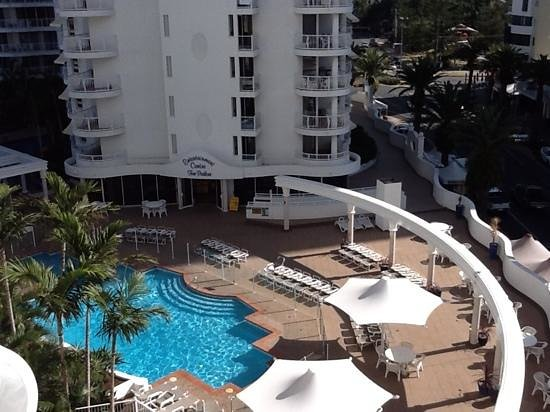 Phoenician Resort - Broadbeach: view from our room