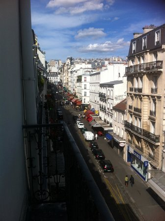 Residence Blanche: View from the balcony