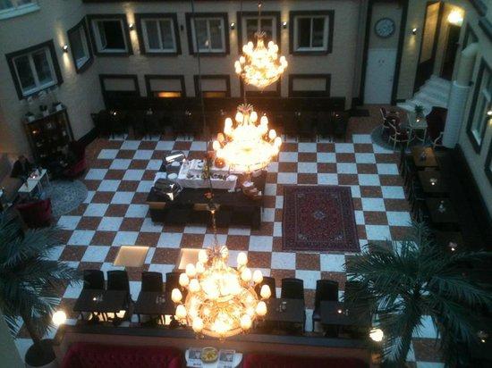 Best Western Hotel Bentleys: Innergården hög trivselfaktor