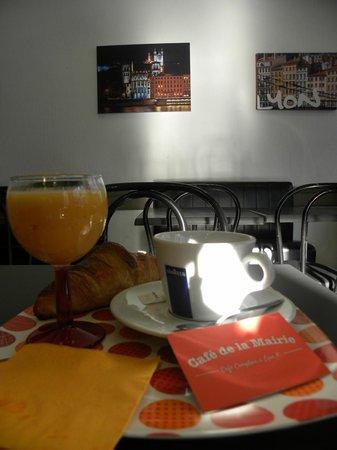 Cafe Restaurant de la Mairie: Salle arrière