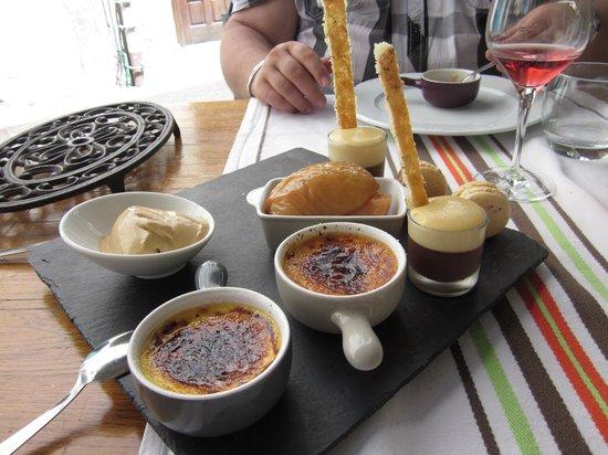 La Rôtisserie du Roy Léon : cafe gourmand