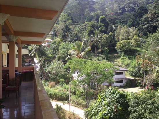 Kandy View Hotel: View from restaurant