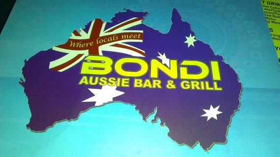 Bondi Aussie Bar & Grill Lamai: Bondi Aussie Bar & Grill, Koh Samui, Thailand