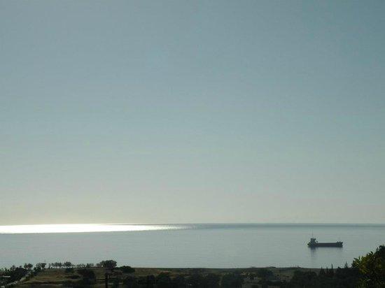 Kalathos Beach: View from Kalathos village