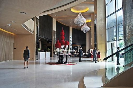 Lobby With High Ceiling And Flow Of Space Picture Of
