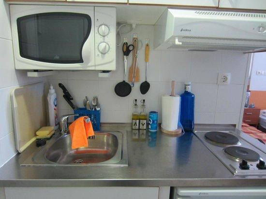 Residencia Fernando Villalon: Cocina