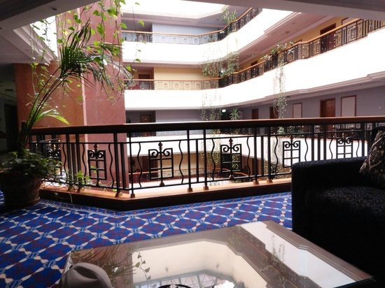 Regent Palace Hotel: In front of my room/ 326