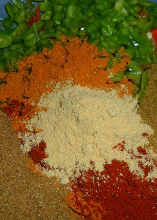 Bar Allioli: Spice mix used to make Indian Burgers.