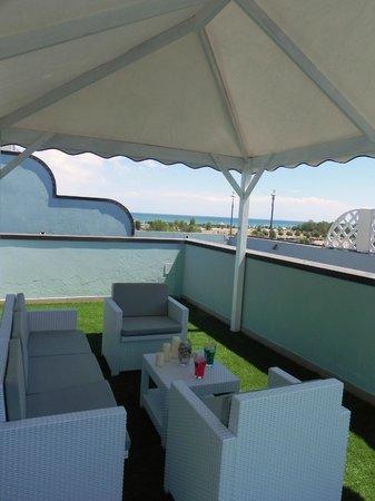 Hotel Ambrosiana: In terrazza si possono vivere dei veri momenti di relax