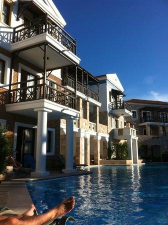 Aldemar Royal Mare Thalasso Resort : our room balcony