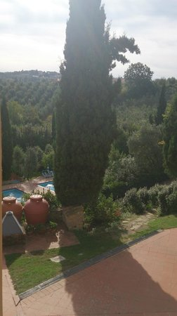La Valle: View from apartment