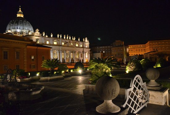 Residenza Paolo VI: View from the hotel terrace