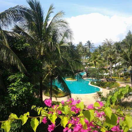 Thavorn Palm Beach Resort: Вид из номера