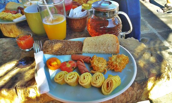 Wood Stock Home Stay: delicious breakfast