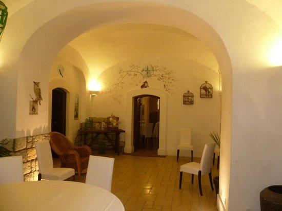 Relais Tenuta San Domenico: Обеденный зал