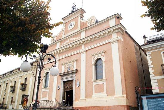 Basilica of Our Lady of the Sacred Mountain: FACCIATA DELLA CHIESA