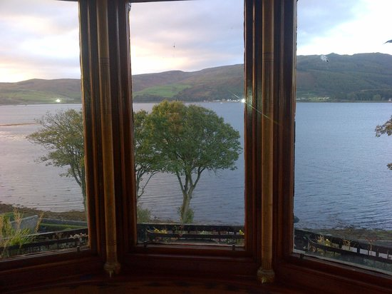 Craigard House Hotel : view from room nr 4