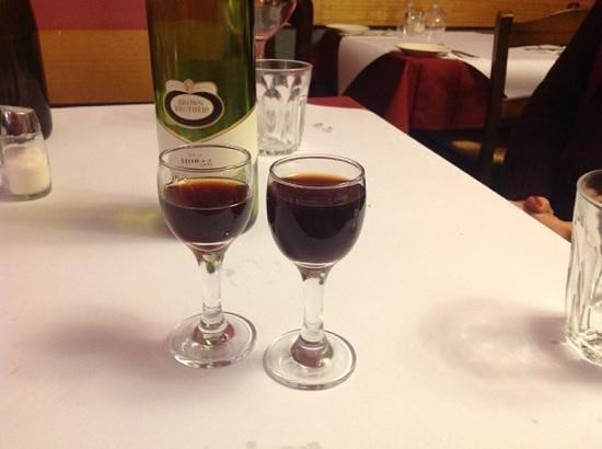 Franco's Italian Restaurant : just a small digestive!