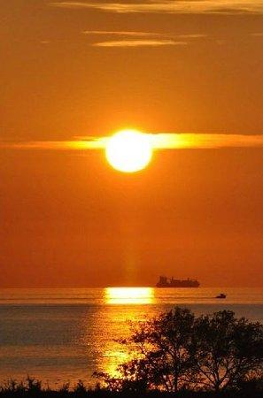 Apartments Polynesia: tramonto dalla camera