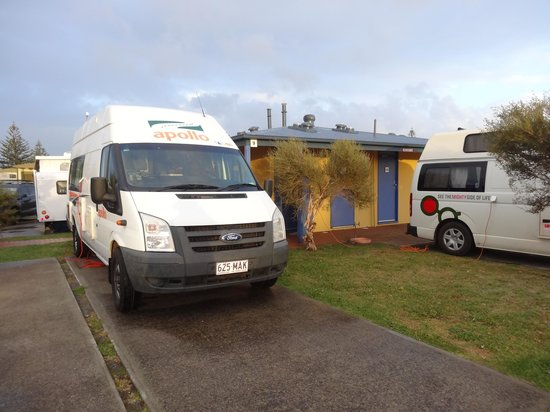 Adelaide Shores Caravan Park: On site