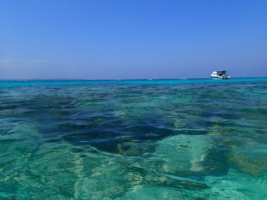 Maratua Paradise Resort: Picture postcard tropical island