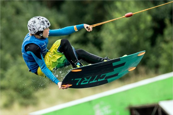 Sheffield Cable Waterski : Local rider